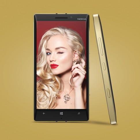 Lumia 930 với bản Gold Edition
