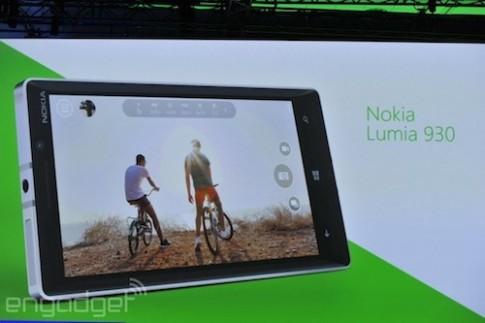 Lumia 930 với camera 20 megapixel trình làng