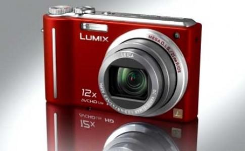 Lumix DMC-TZ7 màu đỏ