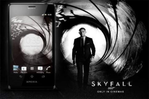 Lý do Xperia T là điện thoại hoàn hảo của James Bond