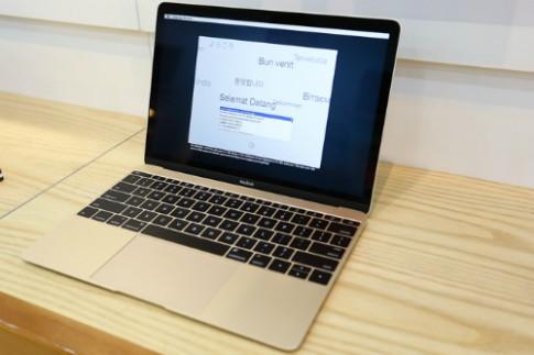 MacBook 12 inch chính hãng có giá từ 32,99 triệu đồng