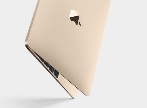 MacBook 12 inch trình làng với cân nặng chỉ 0,9 kg
