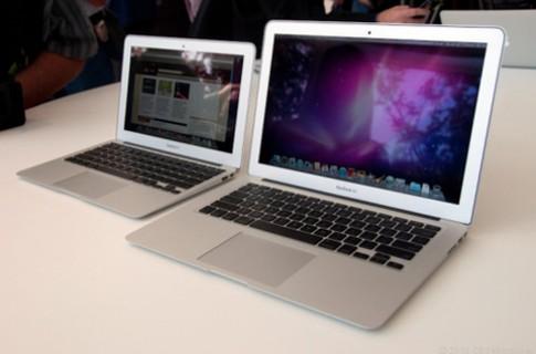 MacBook Air 15 inch và 17 inch có thể ra mắt quý I/2012