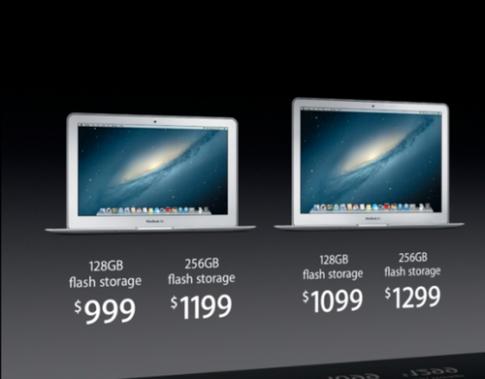 MacBook Air 2013 nâng cấp chip Intel Haswell, pin cả ngày