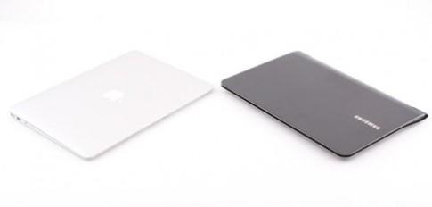 MacBook Air đọ dáng Samsung Series 9