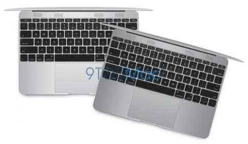 MacBook Air màn hình 12 inch có thiết kế hoàn toàn mới