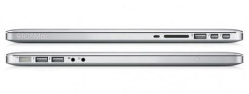 MacBook Pro mới có thể mỏng hơn, màn hình Retina