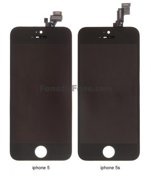 Màn hình iPhone 5S lộ diện với ít thay đổi so với iPhone 5