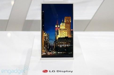 Màn hình smartphone 5 inch viền mỏng nhất thế giới ra mắt