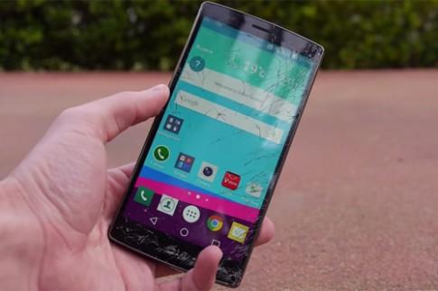 Màn thả rơi thử độ bền đầu tiên của LG G4