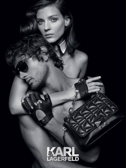 Marlon Teixeira quyến rũ trong bộ ảnh quảng cáo của Karl Lagerfeld