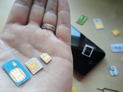 Mẫu iPhone đầu tiên dùng nanoSIM là?