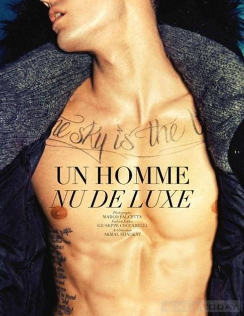 """Mẫu nam """"Call me maybe"""" nóng bỏng với thời trang Thu đông 2012"""