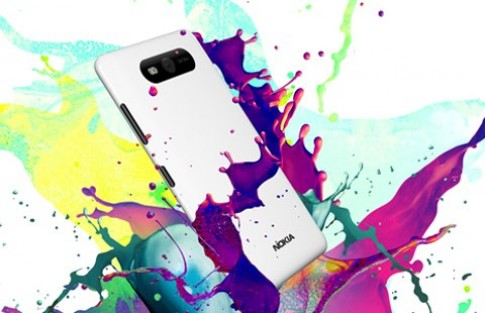 Màu sắc rực rỡ của Nokia Lumia 820
