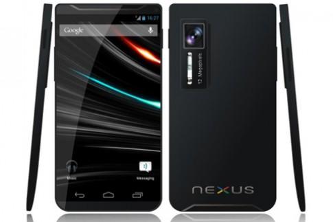 Mẫu ý tưởng Glaxy Nexus 2 chip lõi tứ 2GHz
