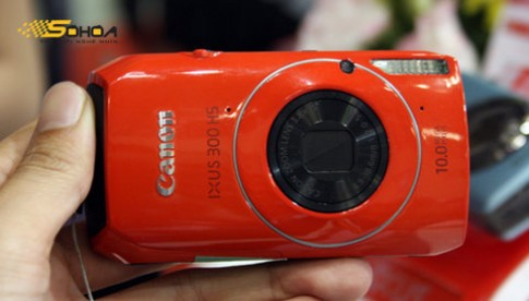 Máy ảnh Canon IXUS dòng HS xuất hiện