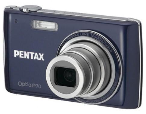 Máy ảnh giá rẻ Pentax Optio P70 và E70