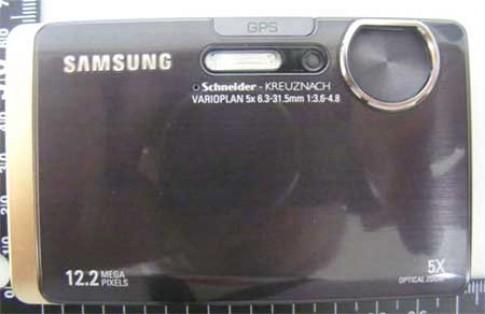 Máy ảnh GPS của Samsung lộ diện