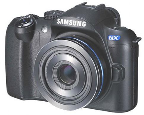 Máy ảnh lai của Samsung ra mắt