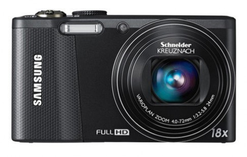 Máy ảnh siêu zoom 18x, cảm biến CMOS của Samsung