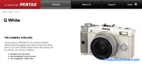 Máy ảnh thay ống kính nhỏ nhẹ nhất thế giới lộ diện