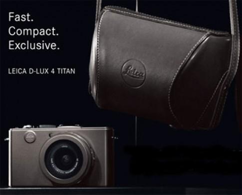 Máy ảnh titan Leica D-Lux 4