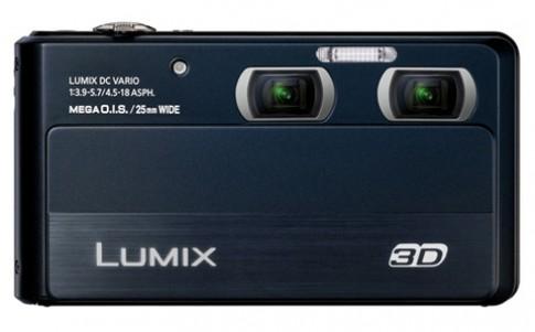 Máy compact chụp hình 3D của Panasonic