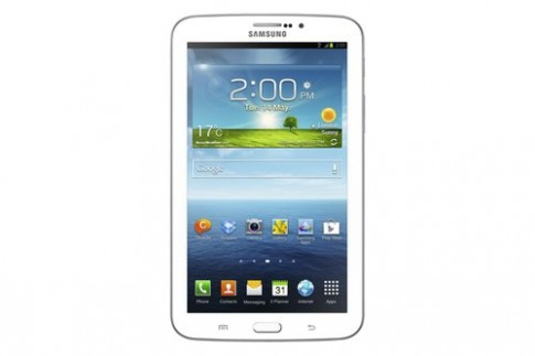 Máy tính bảng Galaxy Tab 3 thiết kế giống S4 ra mắt