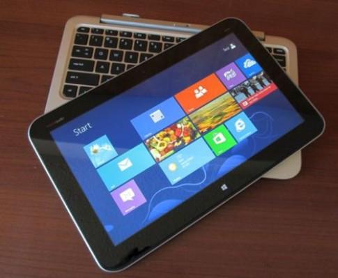 Máy tính bảng Windows 8 bàn phím rời của HP giá 850 USD
