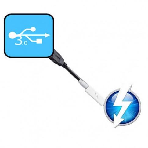 Máy tính Mac thế hệ mới sẽ có cả USB 3.0 lẫn Thunderbolt