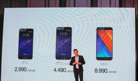 Meizu chính thức ra mắt người dùng Việt Nam