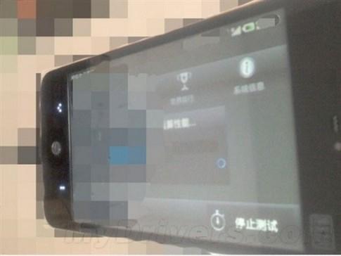 Meizu MX lộ ảnh với bàn lăn cảm ứng
