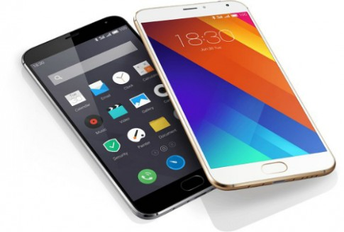 Meizu ra smartphone Android dáng giống iPhone 6 Plus