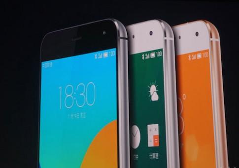 Meizu ra smartphone dùng chip tám nhân giống iPhone 6