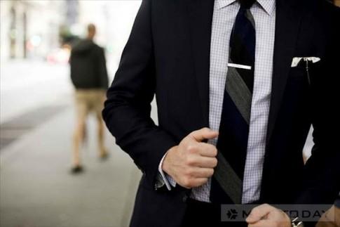 Mẹo thời trang: Nguyên tắc cho thanh gài cravat