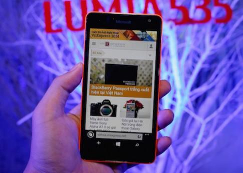 Microsoft Lumia 535 về Việt Nam giá 3,5 triệu đồng