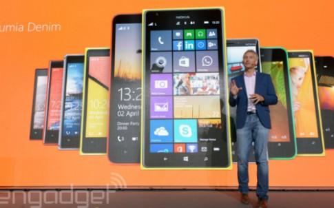 Microsoft nâng cấp phần mềm nhiều Windows Phone Lumia