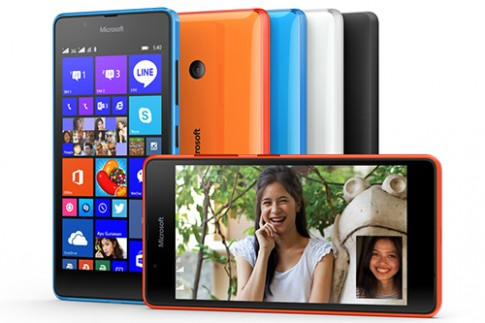 Microsoft ra Lumia 540 màn hình HD 5 inch, giá 3,2 triệu đồng