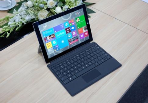 Microsoft Surface 3 về Việt Nam giá từ 15 triệu đồng