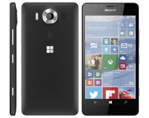 Microsoft trình làng bộ đôi Lumia 950 và Lumia 950 XL