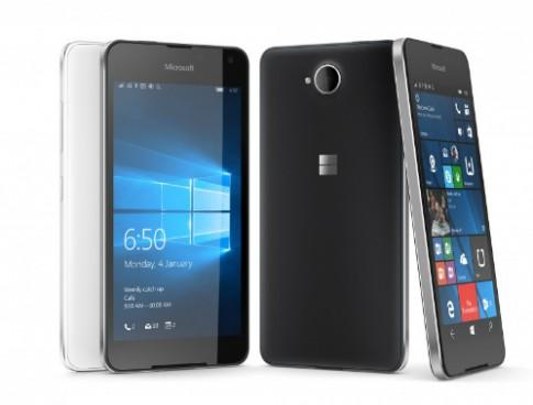 Microsoft trình làng Lumia 650 - điện thoại Windows mỏng nhất