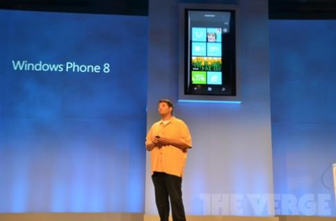 Microsoft trình làng Windows Phone 8