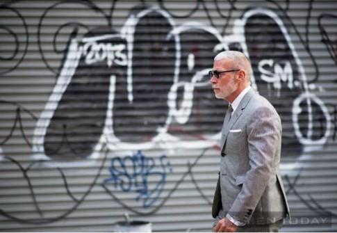 Mix đồ đa phong cách cùng suit từ street style New York