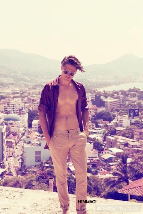 Mix đồ nam: Mùa hè không tắt ở Mexico