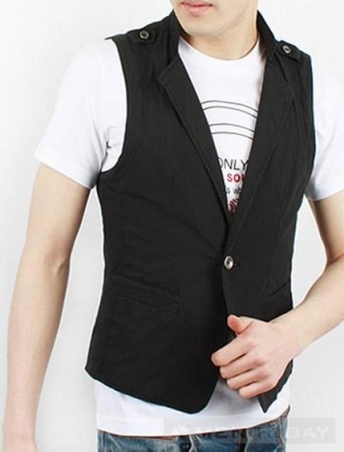 Mix đồ nam thu đông: Tinh tế cùng áo gilet