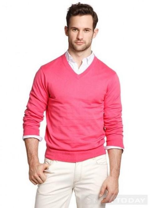 Mix đồ nam: Trẻ trung và nam tính với gam hồng