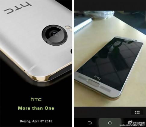 Mô hình HTC One M9 có cảm biến vân tay xuất hiện