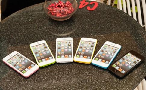 Mô hình iPhone 5C đa sắc màu tại Việt Nam