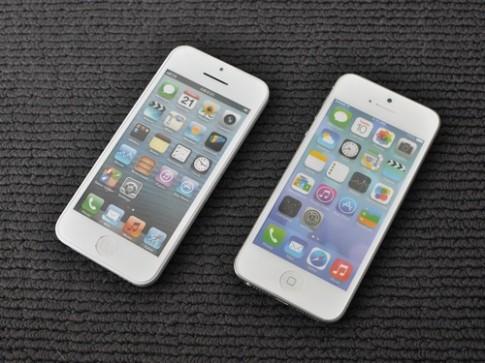 Mô hình iPhone 5C giá rẻ và iPhone 5S xuất hiện tại TP HCM