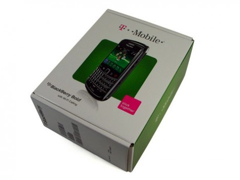 Mở hộp BlackBerry Bold 9700